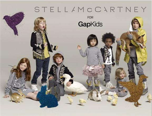 Stella McCartney met de nouveau son talent au service des enfants pour Gap  Kids cb4219c73f9