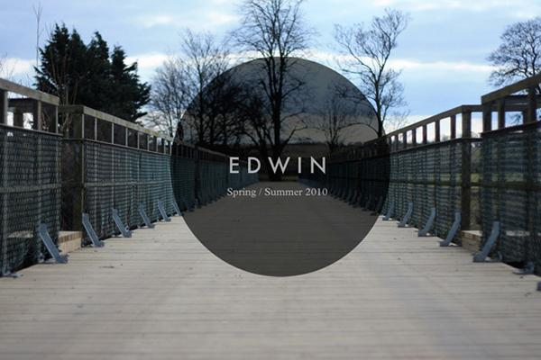EDWIN – S/S 2010 COLLECTION LOOKBOOK