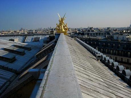 Les toits de l'Opéra national de Paris, 31.03.2009