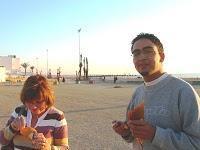 Que diriez-vous d'une bonne glace sur la Corniche d'Agadir ?