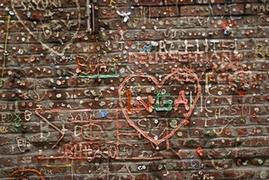 Mur de chewing-gum à Seattle