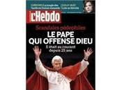Scandales pédophiles L'Hebdo offense Benoît vérité