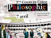 3ème Coupe Corse Philosophie tient après-midi 15h30 l'Université Corse.