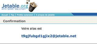 astuces - email jetable