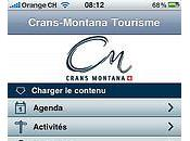 Crans-Montana lance application pour iPhone