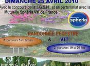 Sauvigny-les-Bois (58) Randonnée Pédestre Avril 2010