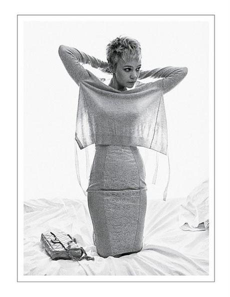[couv] Carey Mulligan pour Interview magazine