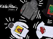 Zara Keith Haring pour mini collection