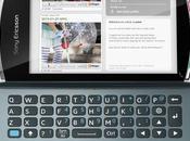 Sony Ericsson Vivaz reçoit clavier
