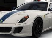 Ferrari dans livrée Racing Bianco Avus tour France