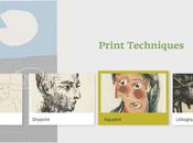 techniques reproduction utilisées Picasso