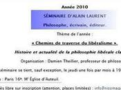 Séminaire d'Alain Laurent avril