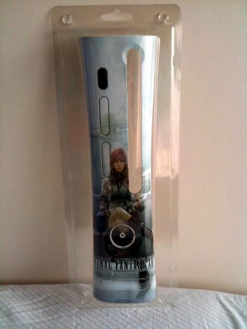 faceplate xbox360 final fantasy XIII 13
