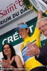 La belle Gaelle, sur le podium du Dauphiné 2009