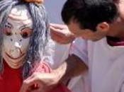 sont fous romains fête enfants d'Orange