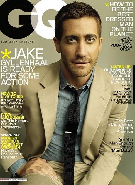 [couv] Jake Gyllenhaal pour GQ