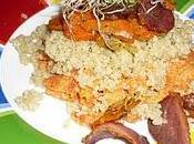Carottes façons quinoa