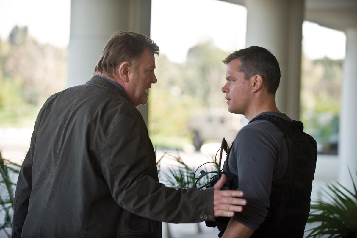 Brendan Gleeson et Matt Damon. StudioCanal
