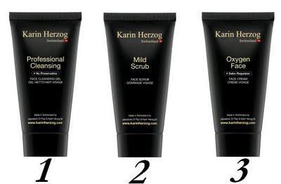 les soins peau jeune Karin Herzog