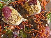 Salade mimosa jambon d'auvergne