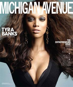 Fabuleuse Tyra dans Michigan Avenue