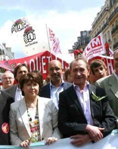 1er mai : Je marche avec les socialistes …