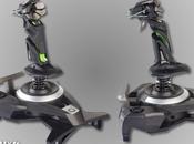 Flight Stick sans-fil Cyborg F.L.Y. pour Xbox