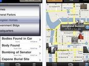 """Promouvoir livre avec application iPhone, l'exemple """"Chicago gangland Tour"""""""