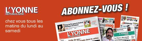 Article de presse : Journal L'Yonne Républicaine