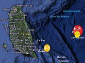 Avril 2010, séisme sous marin magnitude frappe Sud-Est Taïwan.