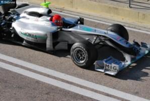 Schumacher étrennera un nouveau châssis