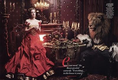Beauty and the Beast by Annie Leibovitz
