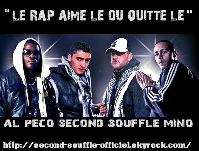 Second Souffle ft Al Peco & Mino - Le RAP, Aime le ou quitte le (MP3)