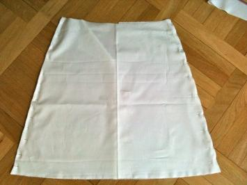 Tuto couture facile : jupe en broderie anglaise