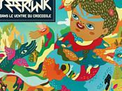 "DISIZ ""PETER PUNK"" Dans ventre crocodile"