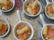 Bouchees asperges saumon