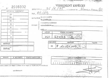 Karachi: Mediapart publie de troublants documents bancaires