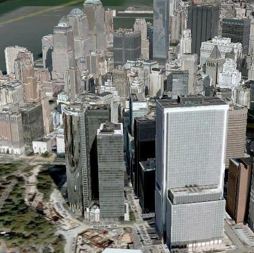 La 3D arrive sur Google Maps...