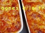 Lasagnes truite