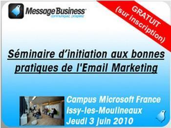 Campus Microsoft France à Issy-les-Moulineaux le jeudi 3 juin 2010.