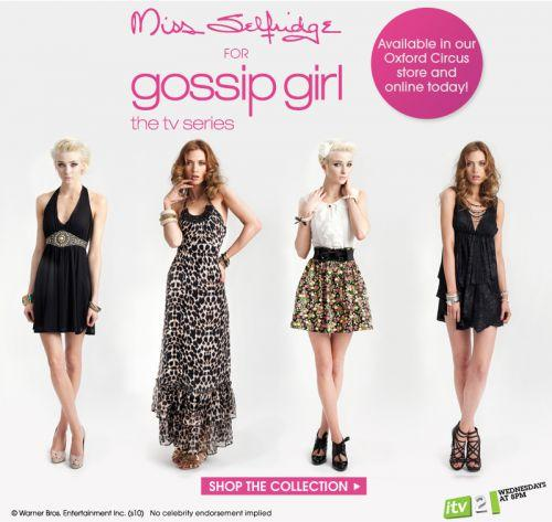 Collection Gossip Girl de Miss Selfridge