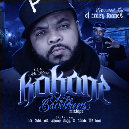 "KOKANE: ""On The Back Streets"" (Mixtape)"