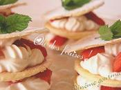 Mille-feuilles smoothie fraises
