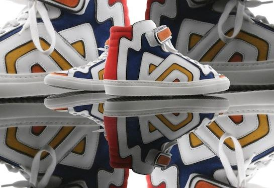 "Post image for sneakers Pierre Hardy Colorama 6 ""Graff"""