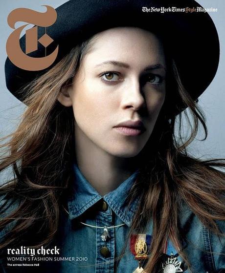 [couv] Rebecca Hall pour New York Times magazine