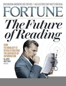 Fortune the Future of reading
