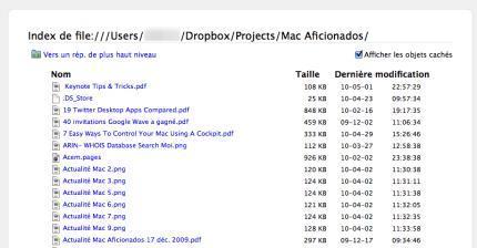 Gestion PDF Firefox Mac Aficionados