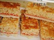 Biscuit amandes confiture fraise
