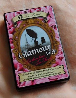 Palette Too Faced : Glamour to go