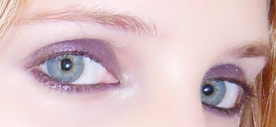 Make up: charbonneux violet